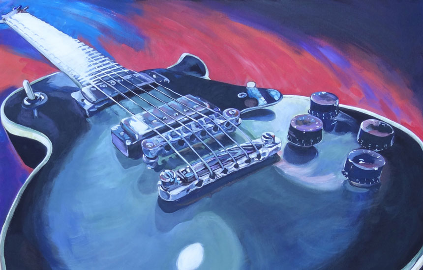 Ravay Snow Fine Art: Guitar